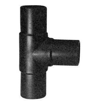 Georg Fischer PE t-stykke 90° 110mm PN10 PE100-SDR17.