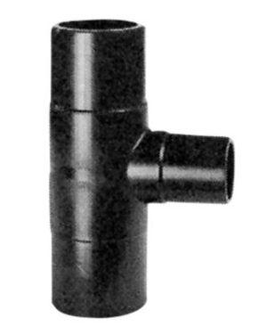 Georg Fischer PE t-stykke 90° 225x90mm PN10 PE100-SDR17.