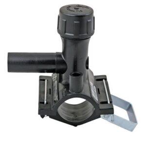 Uponor Fusamatic PE EL-anboringsbøjle 200x63 mm med snaplukning