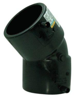Uponor Fusamatic PE EL-vinkel 75 mm 45° PN16 SDR11. 4