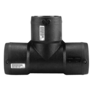 Frialen El-svejse t-stykke 90° 125mm PN16. Med 3 muffer. SDR11-SDR17