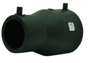 Uponor Fusamatic PE EL-reduktion 160-110 mm PN16 PE100-SDR11. 4