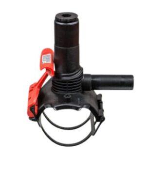 Frialen Trykanboring 110-63mm PN16. Type DAA. med integreret bor. SDR11-SDR17