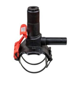 Frialen Trykanboring 160-63mm PN16. Type DAA. med integreret bor. SDR11-SDR17