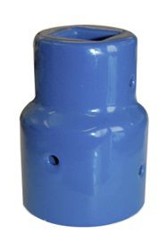 AVK spindelovergang DN100-150. Spindelfirkant 19/25 mm. Støbejern. Til universal garniture 145127xxx