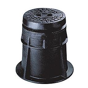 Hawle ventildæksel til stikledningsventil. Komposit