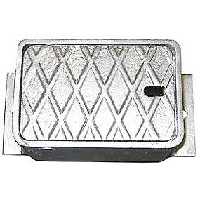 JCH ventildæksel 90x80x130 mm til garniture