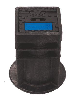 AVK Purdie gadedæksel 159x159 mm. ''VAND''. Plast/GG-25