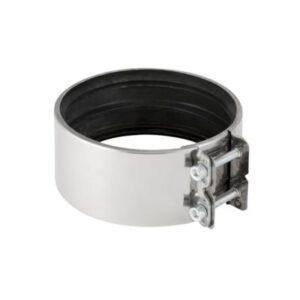 Geberit kobling 159-160 mm DN150. Rustfrit stål