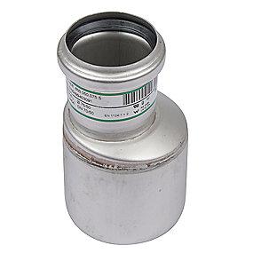 Blücher EuroPipe excentrisk reduktion 75-50 mm. Rustfrit stål