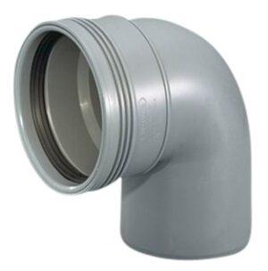 Wavin Wafix HC PP bøjning 75 mm. 88.5 gr.