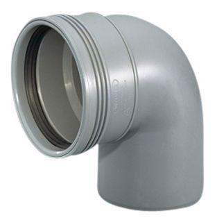 Wavin Wafix HC PP bøjning 110 mm. 88.5 gr.