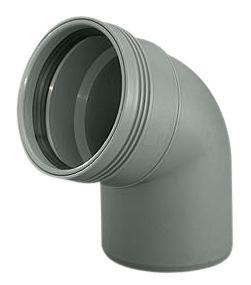 Wavin Wafix HC PP bøjning 110 mm. 67 gr.