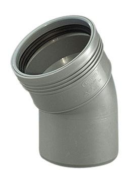 Wavin Wafix HC PP bøjning 75 mm. 30 gr.