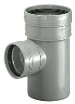 Wavin Wafix HC PP grenrør 50-50 mm. 88.5 gr.