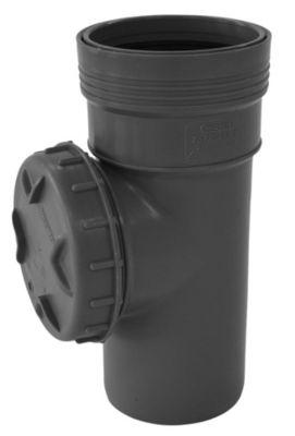 Wavin Wafix HC PP renserør med dæksel 75mm