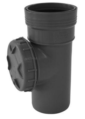 Wavin Wafix HC PP renserør med dæksel. 110mm