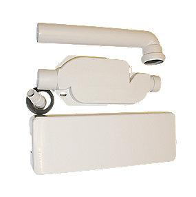 Geberit Uniflex vægmonteret vandlås 40mm til op- og vaskemaskiner