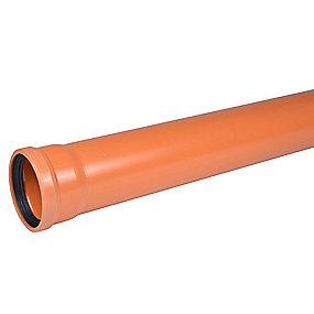 Wavin PVC kloakrør 160x1000mm SN4 EN13476