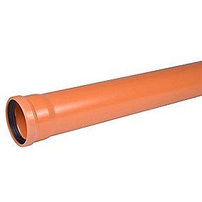 Wavin PVC kloakrør 160x1000mm SN8 EN1401
