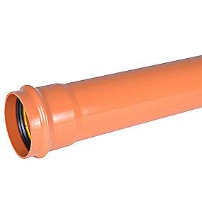Wavin PVC kloakrør 160x3000mm SN8 EN1401