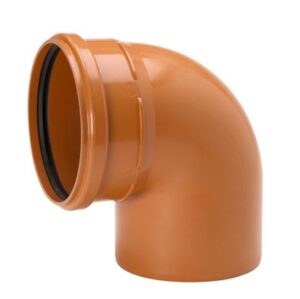 Uponor PVC bøjning 200mm