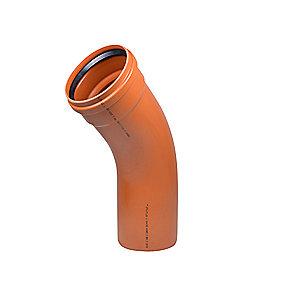 Wavin PVC bøjning 45° 400mm