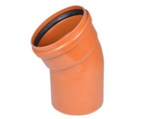Uponor PVC bøjning 315mm