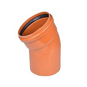 Wavin PVC bøjning 30° 250mm