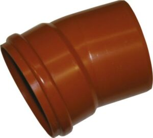 Uponor PVC bøjning 250mm