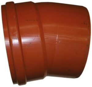 Uponor PVC bøjning 400mm