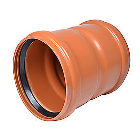 Uponor PVC dobbeltmuffe 250mm