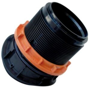 Lauridsen EasyClip Link sadelgrenrør 600/200mm. 90°