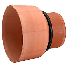 Uponor PVC overgang 200mm