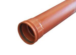 Wavin Wafix PP kloakrør 110 x 3000 mm SN8. EN1852