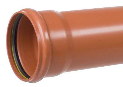 PP-kloakrør 110x3000mm SN8 EN1852-1