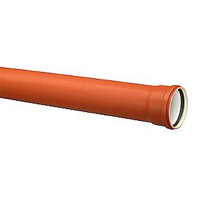 Uponor PP kloakrør 110x1000mm SN8 EN13476