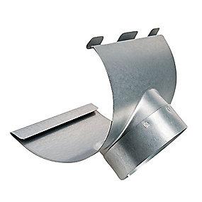 Plastmo stål plus tudstykke nr. 11. 90 mm.