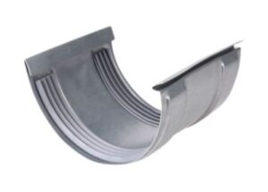 Plastmo stål plus samlestykke nr. 11 kliksystem m/gummi