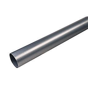 Plastmo stål plus nedløbsrør 75 mm. 3 meter.- Tages ikke retur -