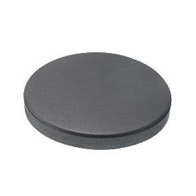 VM zinc brøndkrave uden hul 150 mm. Flad. Anthra -Tages ikke retur-