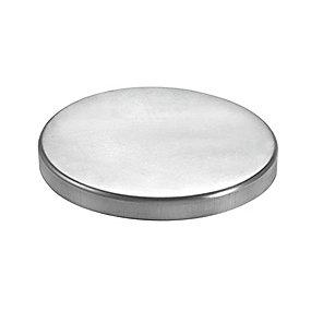 VM zinc brøndkrave 150 mm. flad
