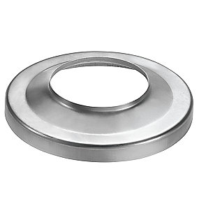 VM zinc brøndkrave 87/150 mm. flad. Valsblank -Tages ikke retur-