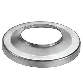 VM zinc brøndkrave 76/150 mm. flad. Valsblank -Tages ikke retur-