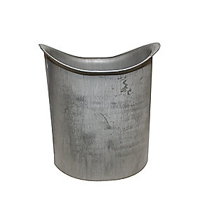 VM zinc tudstykke 76 x 280 mm. Quartz -Tages ikke retur-