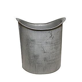 VM zinc tudstykke 76 x 333 mm. Quartz -Tages ikke retur-
