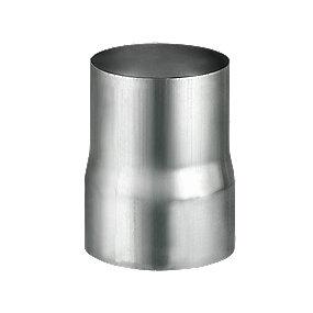 VM Zinc rørmuffe 100 mm. Valseblank -Tages ikke retur-