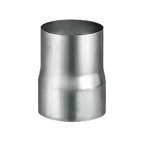 VM Zinc rørmuffe 76 mm. Valseblank -Tages ikke retur-