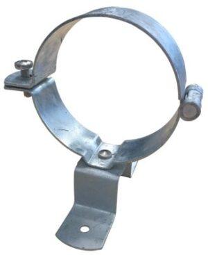 hængselstift 76 mm til træ. Galvaniseret stål med skrue