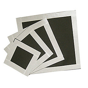 LIGHT membrangennemføring 400 x 400 mm til Ø250 mm rør